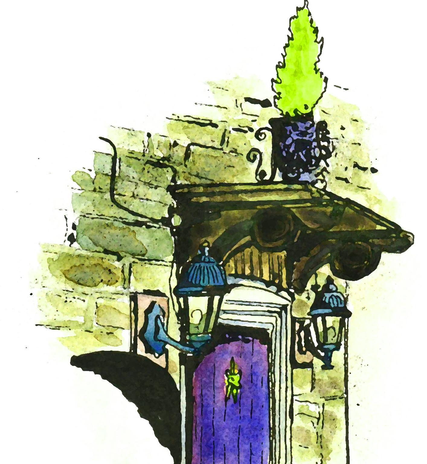 Corfe doorway