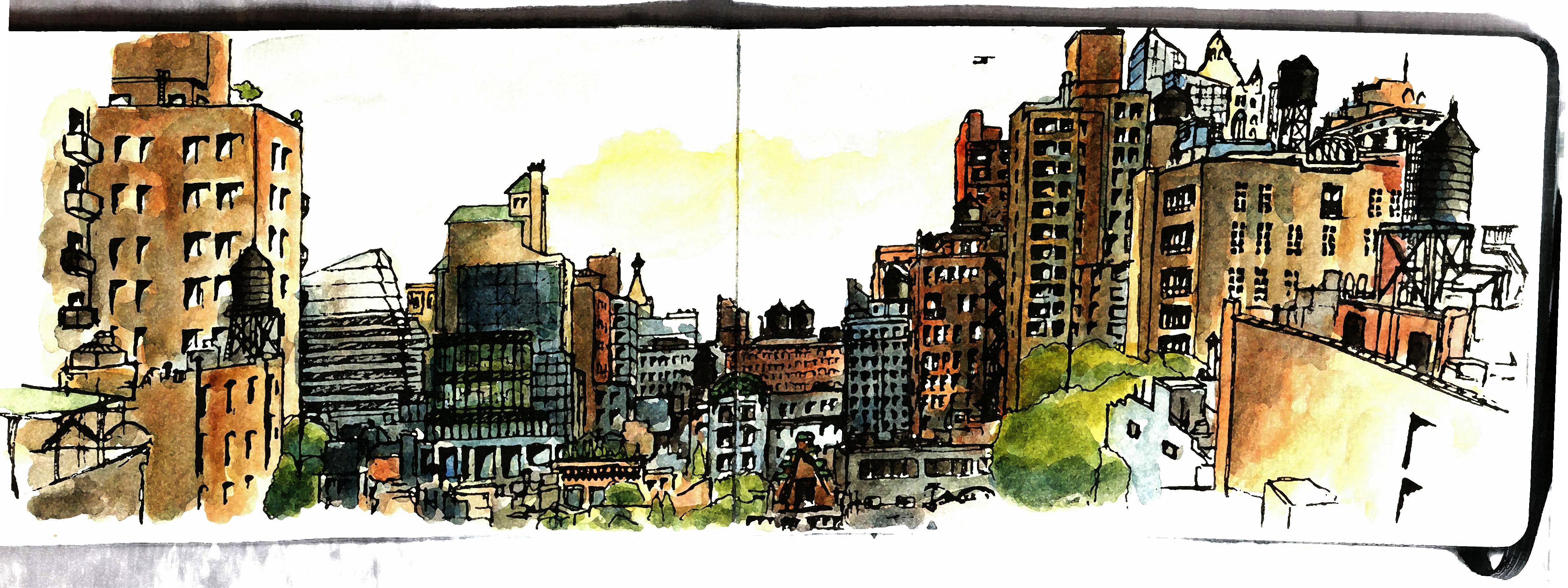Lexington and Park Avenue