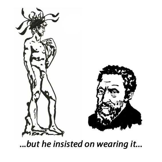 Michelangelo & David